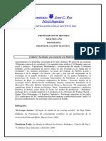 Programa Sociologia 2019