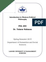 Western Political Philosophy_2