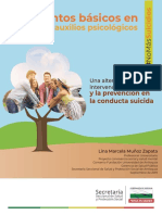 Cartilla Primeros Auxilios Conducta Suicida