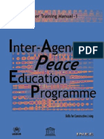 Inter Agency Peace Education Teacher Training