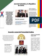(Corea y Comunidad Andina)