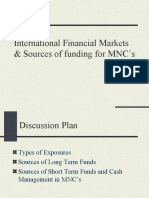 14180111 Sources of Funding for MNCs