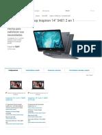 Laptop Inspiron 5481 de 14 Pulgadas 2 en 1 Con Dell Cinema _ Dell Honduras