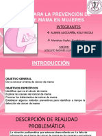 Redaccion Cancer de Mama
