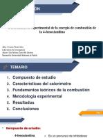 presentacion calorimetria