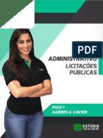 E-book DireitoAdminitrativo GabrielaXavier LicitaçõeseContratos Final