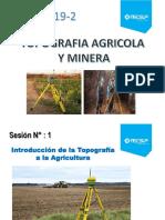 Sesión 1 Introducción de La Topografía a La Agricultura