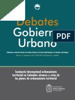 17_Seminario Ordenamiento Territorial en Colombia_POT