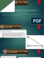 RESISTÊNCIAS DE MATERIAIS 1 - AULA 5