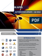 Brands on Apps Automotive Update Q3 2010