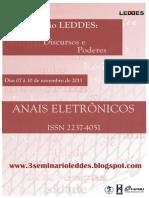 Anais Eletrônicos Do III Seminário Leddes_2