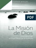 Wright C La Mision de Dios PDF