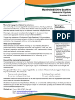 Murrindindi Bushfire Memorial Consultation Flyer No.1[1]