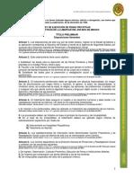 Ley de Ejecucion de Penas Privativas y Restrictivas de La Libertad EDOMEX