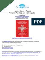 Primeros Auxilios Con Homeopatia Manuel Mateu i Ratera.11905 5Traumatismo Craneal