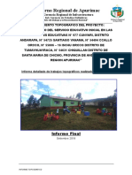 0.-Informe Topgrafico-Centro Iniciales Andahuaylas