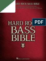 Hard Rock Bass Bible (Bass Reco - Hal Leonard Corp