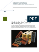 297.PCR for Clay Brick Clay Brick Pavers and Structural Clay Tile