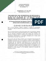 Acuerdo No. 017 de 2016- Tarifas Ica
