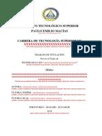 Intructivo de Trabajo de Tiulacion y Formato Ultimo 2019