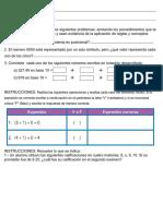 Examen Diagnostico primer semestre bachillerato