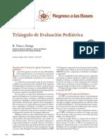 TRIANGULO DE EVOLUCION PEDIATRICA