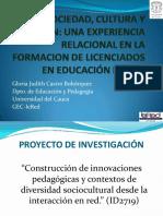 GloriaCastro Sociales en Licenciaturas