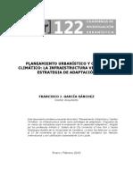 CAMBIO CLIMÁTICO Y PLANEACIÓN