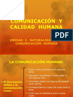 COMUNICACIÓN  Y CALIDAD  HUMANA (unid. I).pptx
