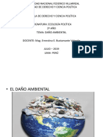 PPT DAÑO AMBIENTAL
