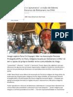 Bbc.com-Ofensivo Racista e Paranoico a Visão de Líderes Indígenas Sobre Discurso de Bolsonaro Na ONU