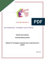 MarquezNuñez Rosalinda M23 S2 Actividadestareasyprocesos