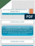 Exploración  neurológica  pediátrica