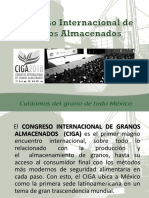 Congreso Internacional Granos Almacenados 2018