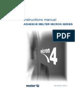 Manual Fusores Serie Micron 4 Meler ENG