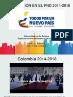 Política Educativa 2014-2018