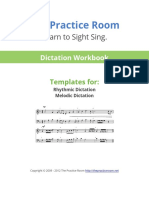 The Practice  Dictation Work Book