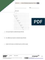 Material of algebra for 8th grade