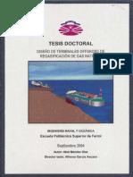 Diseño terminales offshore regasificacion