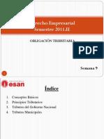 8 Clase Tributario Derecho Empresarial ESAN 2011 II