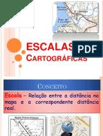 ESCALAS CARTOGRÁFICAS