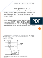 MicrocontroladoresPIC Puertos