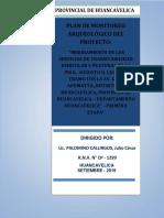 Plan de Monitoreo en Huancavelica