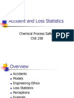 Accident and loss statistic