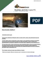 Guia Trucoteca Arcania Gothic 4 Pc