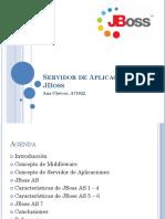 Servidor de Aplicaciones Jboss. Ana Chévez. a71922