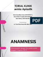 Kasus Tutorial Anemia Aplastik