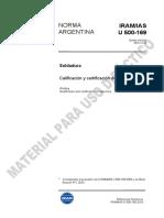 Norma IRAM / IAS - 500