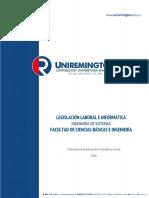 Legislacion Laboral e Informatica 2017 Ingenieria