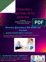 3.6 Derechos y Obligaciones Del Paciente